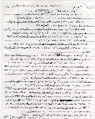 The first page of a letter attributed to Mohamed Atta.